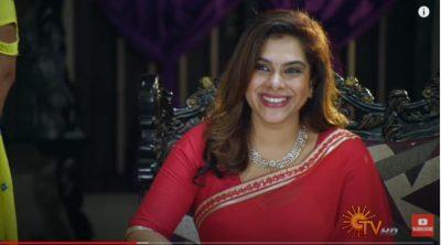 Kadhal Sandhya in Sun tv Kanmani Serial