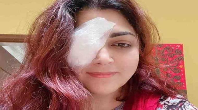 Khushbu Eye Operation