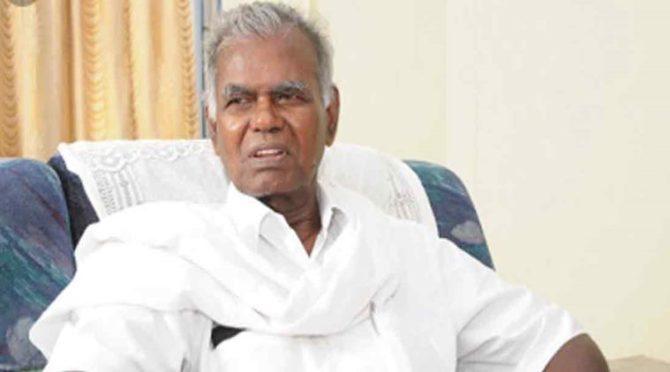 Communist Leader Nallakannu Hospitalized
