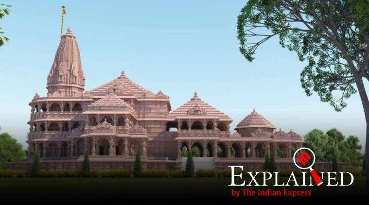 ram temple, ram temple bhoomi pujan, ராமர் கோயில், அயோத்தியில் ராமர் கோயில் கட்டுவதற்கு பூமி பூஜை, ram mandir, ram mandir news, modi ram mandir, சோம்பூரர்கள், sompuras, temple achitect sompuras, modi ram mandir photos, ram mandir architects, tamil indian express