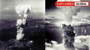 Hiroshima nagasaki US atom bomb, japan atom bomb, ஹிரோஷிமா, நாகசாகி, அமெரிக்கா, இரண்டாம் உலகப்போர், hiroshima nuclear attack, US truman,world war II, tamil indian express explained, explained news