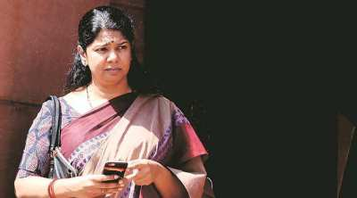 kanimozhi mp, kanimozhi dmk mp,