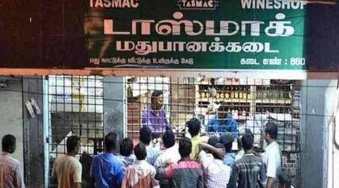 tasmac bar opening chennai