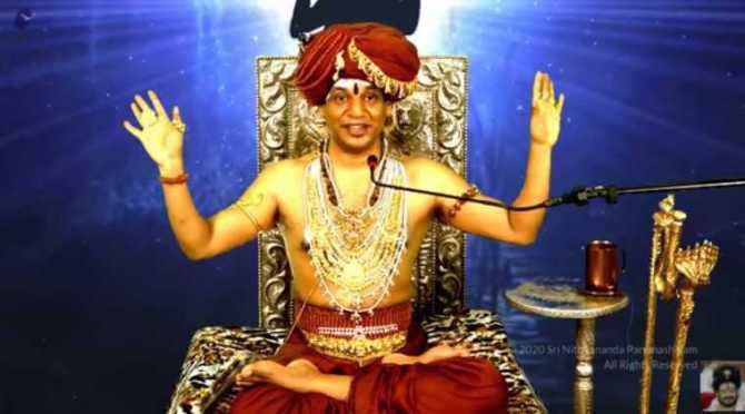 nithyananda, self godman nithyananda, nithyananda created kailaasa country, kailaasa reserve bank, நித்யானந்தா, நித்யானந்தா சர்ச்சை, கைலாசா நாடு, கைலாசா ரிசர்வ் வங்கி, கைலாசா கரன்சி, kailaasa currency, kailaasa president, kailaasa begger, kailaasa, nithyananda controversy, விநாயகர் சதுர்த்தி, ganesh sadhurthy