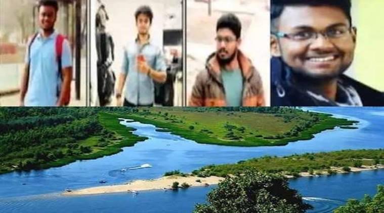 Tamil Nadu 4 Medical Students drown death in volga river