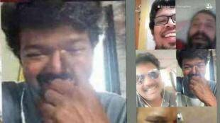 Thalapathy Vijay Friendship Day video call