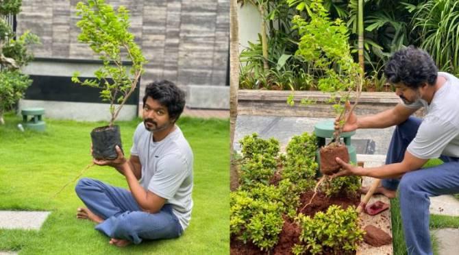 Thalapathy Vijay Green India Challenge