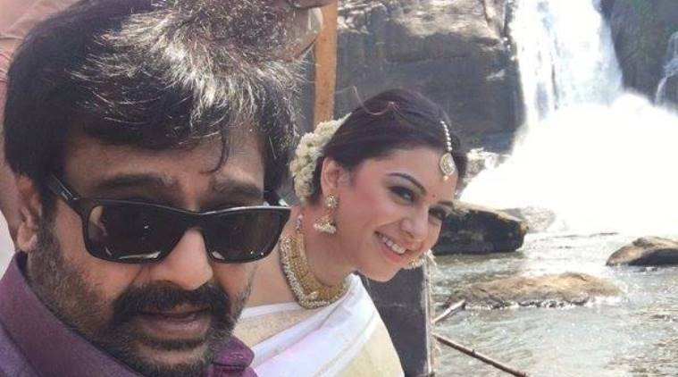 Vivek with Hansika Motwani