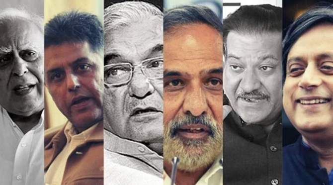 23 senior congress leaders letter to party chief Sonia Gandhi