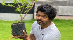 நடிகர் விஜய் #GreenIndiaChallenge