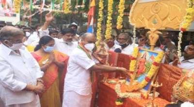 innova car for TN BJP District leader