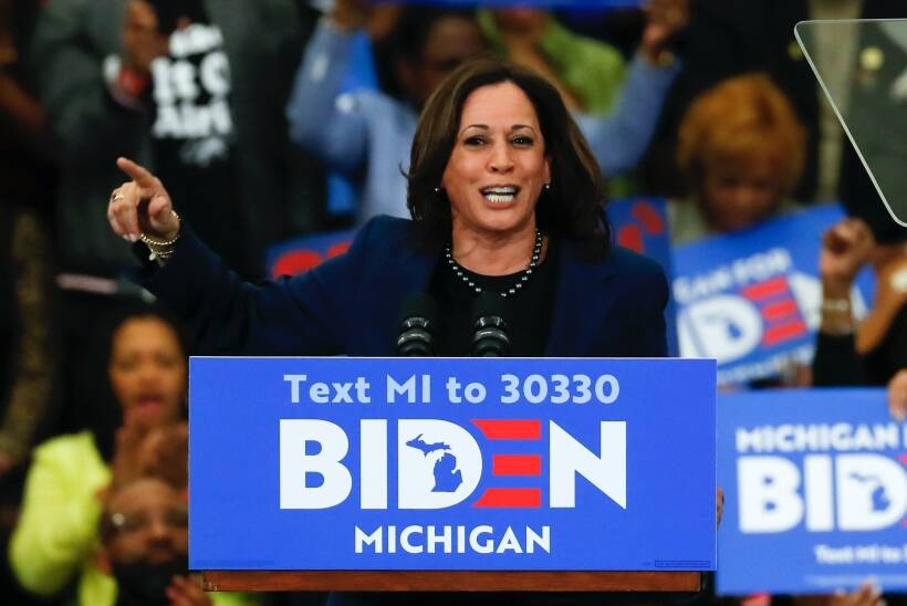 Election 2020 Kamala Harris Origin Story