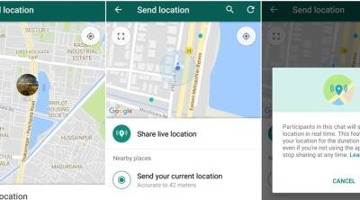 How to share your location on WhatsApp using iPhone or Android phone