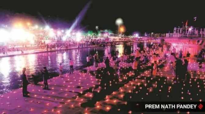. ayodhya ram temple, ayodhya temple bhumi pujan, ayodhya temple bhumi pujan news, ayodhya news, indian express
