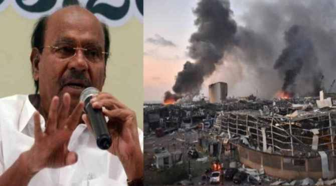 Chennai, lebanon blast, ammonium nitrate, chennai hrabour, officers, inspection, danger, warning, news in tamil, tamil news, news tamil, todays news in tamil, today tamil news, today news in tamil, today news tamil