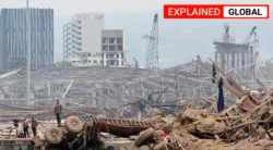 Lebanon, Ammonium nitrate, Beirut port, Beirut explosion, Beirut blast, Beirut news, Beirut videos, Beirut footage, Indian Express
