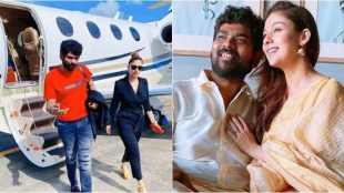 actress nayanthara, director vignesh shivan, onam celebrating photos goes viral, நயன்தாரா, இயக்குனர் விக்னேஷ், ஓணம் பண்டிகை, onam festival, onam nayanthara vignesh shivan romantic photo