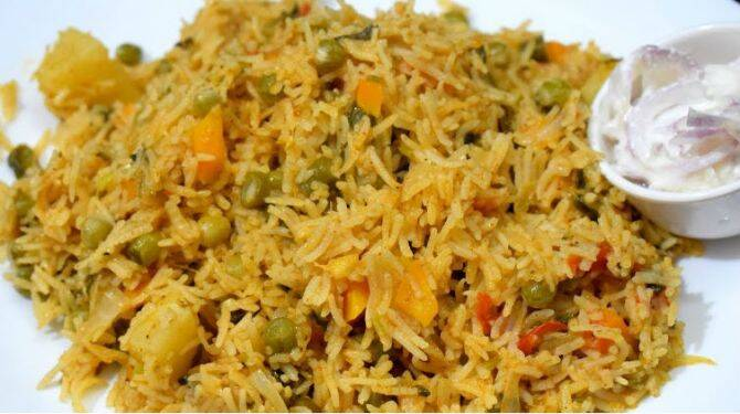 veg biryani recipe veg biryani recipe in tamil