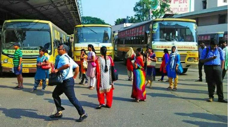 chennai govt buses in chennai
