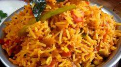 tomato rice recipe tomato rice recipe in tamil