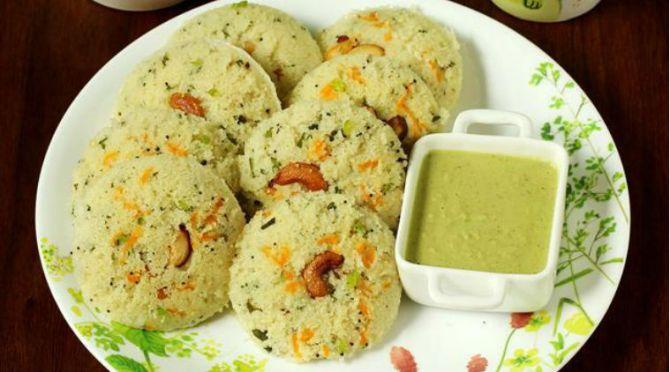 rava idly recipe rava idly tamil