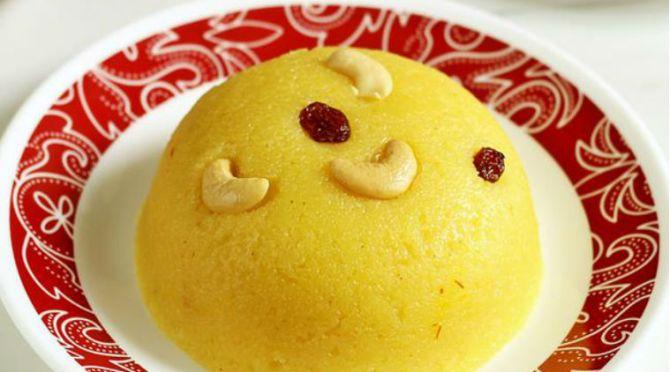 rava kesari recipe rava kesari in tamil
