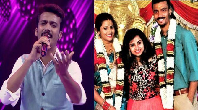 super singer vikram wife vijay tv super singer vikram