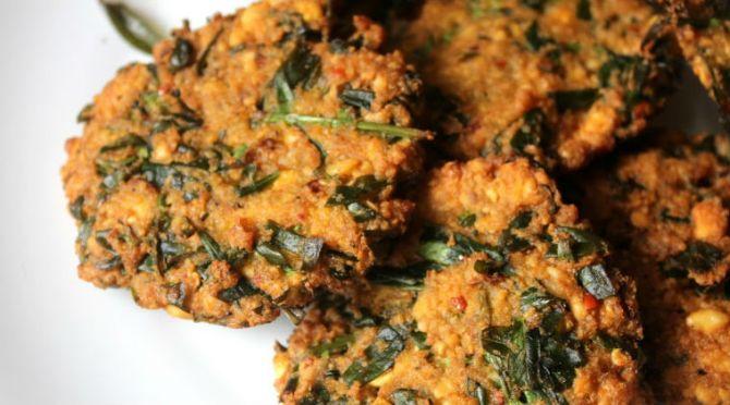 keerai vadai recipe keerai vadai recipe in tamil