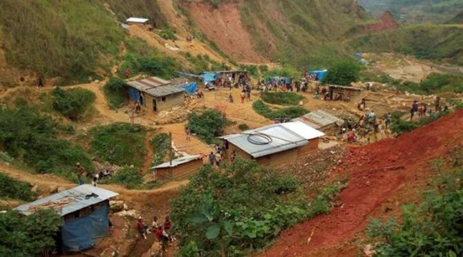 50 people killed in Congo gold mine collapse, international news