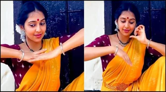Lakshmi Menon's Kuchi Pudi Dance video goes viral