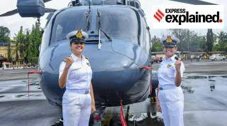 Powerful role of women in indian navy