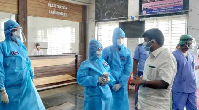 covid 19 infection rates in tamil nadu
