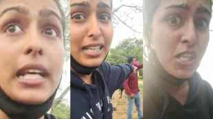 actress Samyuktha Hegde, komali movie Samyuktha Hegde, Samyuktha Hegde shares video, நடிகை சம்யுக்தா ஹெக்டே மீது தாக்குதல், சம்யுக்தா ஹெக்டே ஸ்போர்ட்ஸ் பிரா அணிந்து உடற்பயிற்சி, காங்கிரஸ் தலைவர் கவிதா ரெட்டி, பெங்களூரு, Samyuktha Hegde alleged attacked lead by congress leader kavitha reddy, bangalore, cinema actress Samyuktha Hegde, samyuktha workout with sports bra, Samyuktha Hegde instagram, Samyuktha Hegde twitter