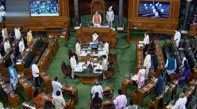 parliament session day 8, parliament day 8, parliament day 8, 8 எம்பிக்கள் இடைநீக்கம், ராஜ்யசபா, மாநிலங்களவை, கோதுமை விலை உயர்வு, parliament session update, lok sabha session, rajya sabha session, rajya sabha ruckus, Tamil indian express