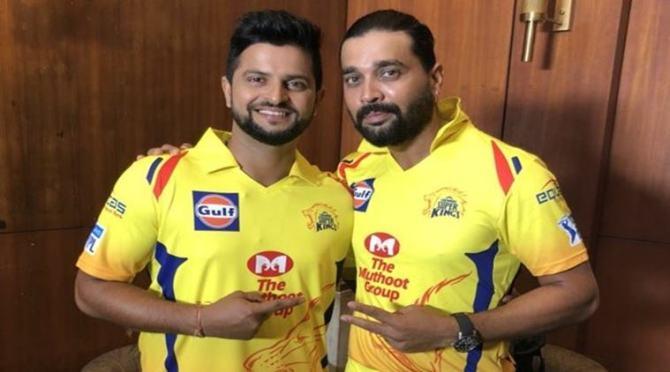 Suresh Raina and Murali Vijay