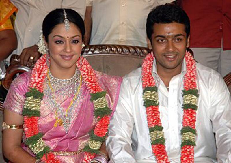 Surya Jyotika marriage