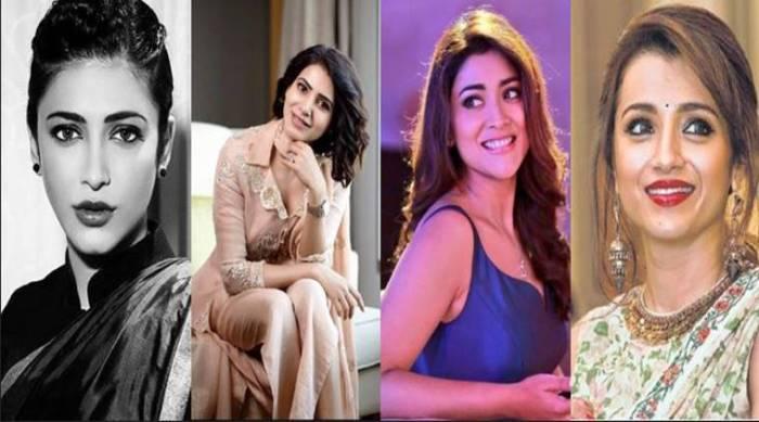 Tamil Actress Then and Now - Trisha, Samantha, Shruti Haasan