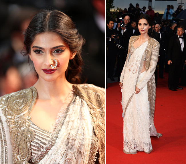 Tamil Actress with Nose Pin - sonam kapoor