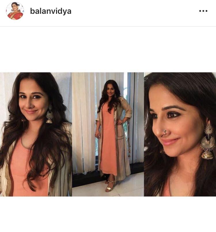 Tamil Actress with Nose Pin - vidya balan