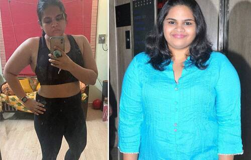 Tamil actress weight loss transformation
