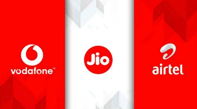 List of prepaid plans with free ott services from reliance jio airtel and vi