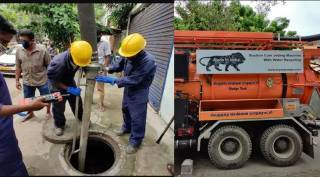 North east monsoon Chennai corporation clears all the blockages in sewage for waterlog free roads