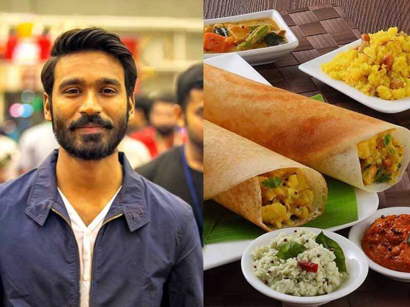 dhanush favourite Food