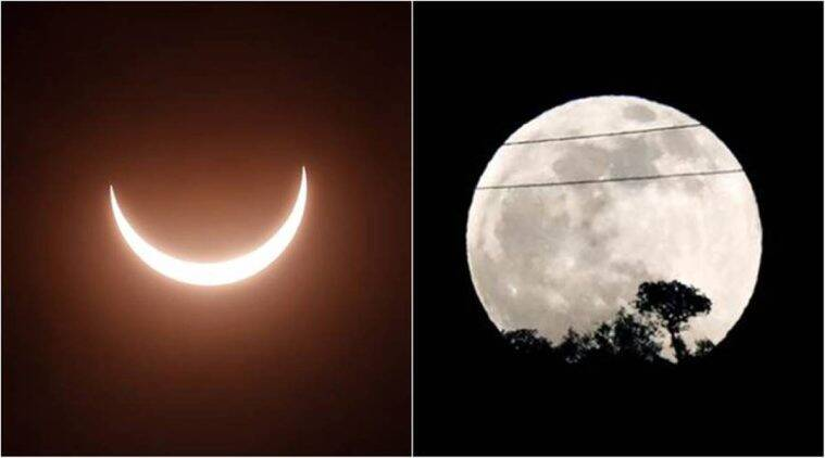 Lunar eclipse, solar eclipse 2020