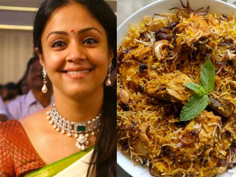 jyothika favourite Food