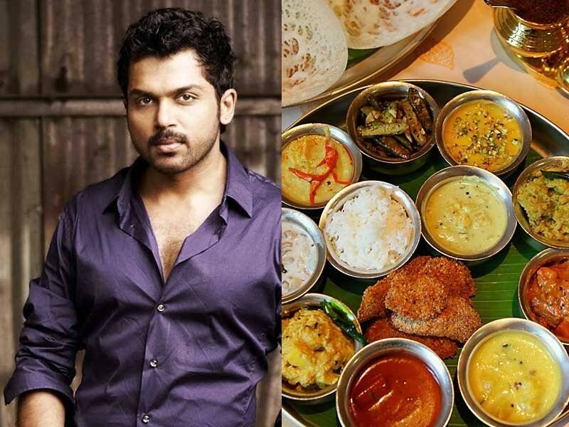 karthi favourite Food