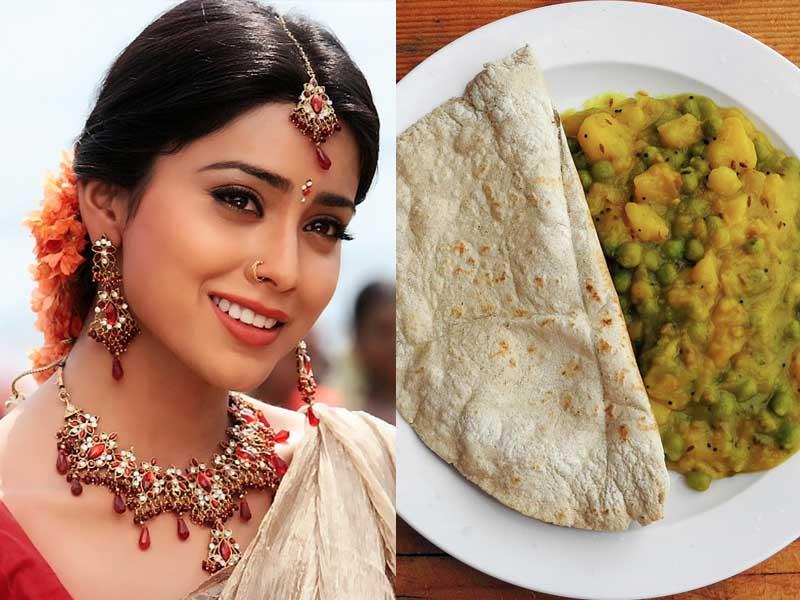 shriya saran favourite Food