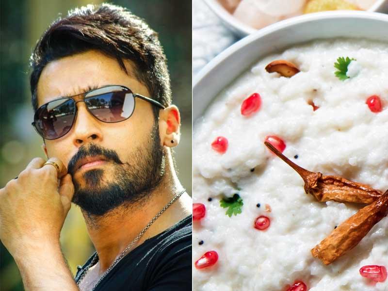 surya favourite Food