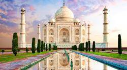 Taj Mahal reopened today after 6 months of lockdown