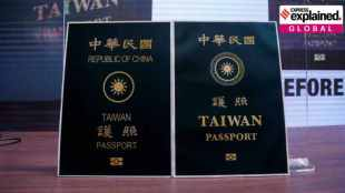 Taiwan, Passport, redesign, Republic of China, Republic of Taiwan, taiwan passport redesigned, republic of china, new taiwan passport, china citizens, express explained, indian express